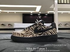 ed6f3f5817 Nike Air Force 1 AF1 WMNS Air Force 1 LX Zebra Print Latest, Price: $88.35  - Air Yeezy Shoes