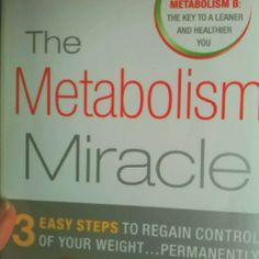 Miracle Diets - Metabolism Miracle diet book - The negative consequences of miracle diets can be of different nature and degree. Metabolism Miracle, Metabolism Booster, Fast Metabolism, Reduce Weight, Weight Gain, How To Lose Weight Fast, Best Weight Loss, Healthy Weight Loss, Diet Books