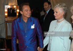 David Cassidy and Shirley Jones during The TV Land Awards -- Backstage at Hollywood Palladium in Hollywood, CA, United States. (Photo by Jeff Kravitz/FilmMagic) ducky