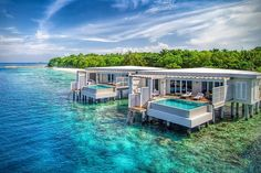 Amilla Fushi Resort Maldives Has Luxurious Bungalows Directly Over Water Vacation Places, Vacation Destinations, Vacation Trips, Dream Vacations, Vacation Spots, Places To Travel, Greece Vacation, Places Around The World, Oh The Places You'll Go