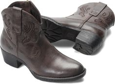 Born Womens Riven in Ebony  These might be my next pair of cowboy boots!