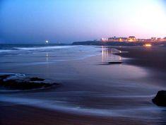 The very beautiful Tynemouth Beach