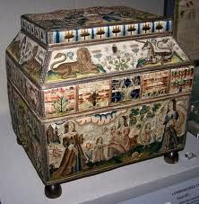 embroidered caskets - Google Search