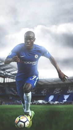 Great Tips To Help You Become A Better Soccer Player. This article is for anyone who wants to learn about soccer. Since you want to improve your soccer skills, you will learn some new tips contained in this ar Chelsea Wallpapers, Chelsea Fc Wallpaper, Chelsea Football, Football Boys, Watch Football, Good Soccer Players, Football Players, Chelsea Champions League, N Golo Kante