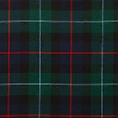 Campbell of Cawdor Modern Lightweight Tartan by the meter – Tartan Shop