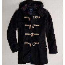 AE Men's Hooded Duffle Coat