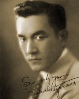 """Sessue Hayakawa, silent and """"talkie"""" actor in American, English, French, German, Japanese films (Bridge of the River Kwai) 1889-1973"""