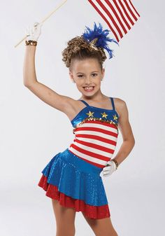 A Wish Come True - Yankee Doodle Leotard