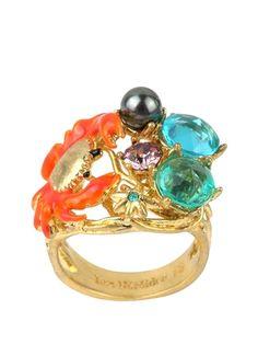 Crazy crab ring