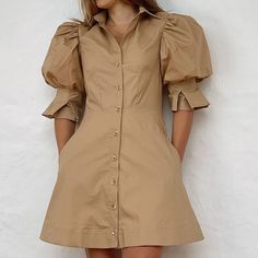 Diy Clothes, Clothes For Women, Evening Dresses, Summer Dresses, Shirt Dress, Instagram, My Style, Womens Fashion, Sleeves