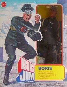Big Jim action figure Boris by Mattel 70s Toys, Retro Toys, Vintage Toys, Gi Joe, Sports Figures, Action Figures, Marvel Secret Wars, Old School Toys, Classic Toys