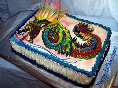 easy decorating kids birthday cakes - Google Search