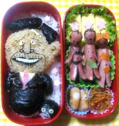 きも弁 japanese gross lunch box