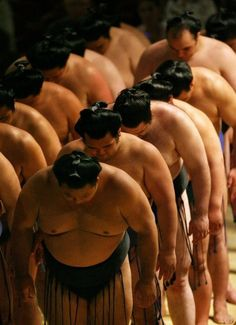 Sumo Wrestlers eat an average of more than 7-thousand calories a day! That's almost four times the calories recommended for the average person...But experts say sumo wrestlers make up for it with several hours of stretching, squatting, and stomping each day - so they can stay fit even as they gain weight!