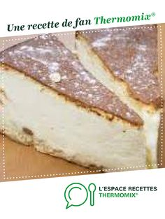 Gateau au fromage blanc par adeline0606. Une recette de fan à retrouver dans la catégorie Desserts & Confiseries sur www.espace-recettes.fr, de Thermomix<sup>®</sup>. Thermomix Cheesecake, Ricotta Cheesecake, Thermomix Desserts, Ww Desserts, Cake & Co, Cordon Bleu, Cheesecakes, Low Carb Recipes, Sweet Recipes