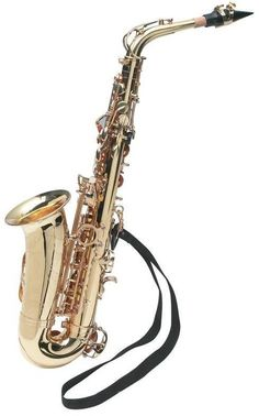 Whether following in the steps of our former President guest starring on a late night talk show, marching in a band or playing the famous streets of New Orleans, this Maxam Alto Saxophone is sure to c