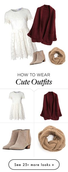"""""""Cute cozy fall outfit"""" by torymiller99 on Polyvore featuring Glamorous, Golden Goose, women's clothing, women's fashion, women, female, woman, misses and juniors"""
