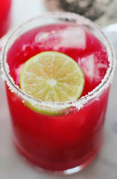 Zesty Blood Orange Margaritas
