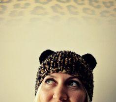 Cat Ear Hat on Etsy, $35.00 Beanie Bears, Cat Ears Headband, Bear Ears, Sweater Weather, Trending Outfits, Hats, Gift, Vintage, Hat