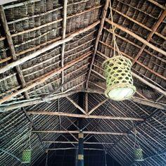 Thatched gorgeousness. #details #design #Zanzibar #Tanzania #Africa #tz15