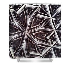 Shower Curtain featuring the photograph Kaleidoscope Op2 by Equad Images