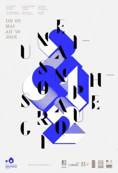 ©les graphiquants - Une Saison Graphique - #graphic #design #layout #affiche #poster #unquotedsheets