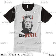Hillary is a She-Devil - - Anti-Hillary -