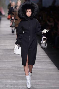 Milan Fashion Week Fall 2014 - Fendi Fall 2014 Cara Delevingne