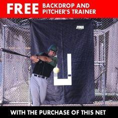 JUGS® #10 Fastpitch Softball Batting Cage Net (191 lb. Breaking-Strength Nylon Twine) - http://www.learnbatting.com/baseball-equipment-deals/jugs-10-fastpitch-softball-batting-cage-net-191-lb-breaking-strength-nylon-twine-5/