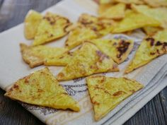 These paleo tortilla chips are crispy little bites of joy. The salty chips are the perfect pairing to any dip.