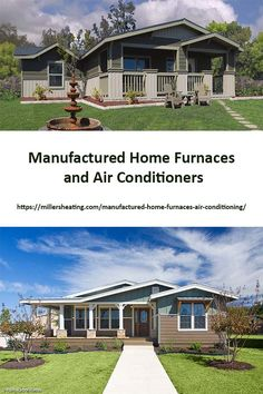 In recent years Intertherm has made home furnaces, heat pumps, and air conditioners that are sized and built specifically for mobile and manufactured homes. Manufactured Home Renovation, Home Furnace, Air Conditioning System, Air Conditioners, Heat Pump, 30 Years, Pumps, Building, Outdoor Decor