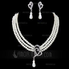 Jewelry - $19.99 - Gorgeous Agate With Rhinestone Women's Jewelry Sets (011017872) http://amormoda.com/Gorgeous-Agate-With-Rhinestone-Women-S-Jewelry-Sets-011017872-g17872