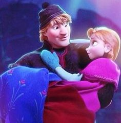 Kristoff and Anna - Frozen, I can see romantic lights already