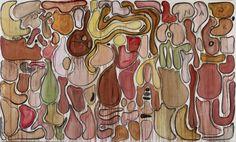 Organs, Courtesy Fabrice Hyber & Galerie N athalie Obadia Paris/Bruxelles © Marc Domage Fabrice Hyber : Mutations acquises | Mu-inthecity.com Fabrice Hyber, Art Quotidien, Paris, Art Fair, Painting, Montmartre Paris, Painting Art, Paris France, Paintings