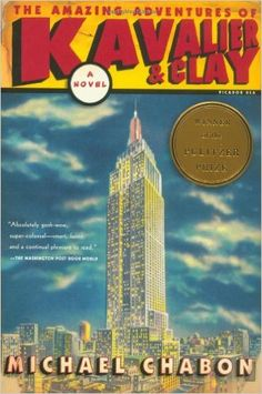 This novel, describing two young men who make it big by creating popular comic book heroes, also describes the immigrant experience as one of the protagonists is from Nazi-torn Prague.   CCSS.ELA-LITERACY.RL.11-12.6 Analyze a case in which grasping a point of view requires distinguishing what is directly stated in a text from what is really meant (e.g., satire, sarcasm, irony, or understatement).