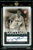 Topps Pristine Nick Collison Autograph Seattle Supersonics Kansas Basketball Card - Mint Condition - Shipped In Protective Display Case! Kansas Basketball, Basketball Cards, Basketball Teams, University Of Kansas, Sports Pictures, Display Case, Seattle, Mint, Rock