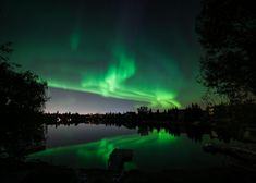 Northern Lights by Tundra Buggy in Canada - When scientists study the Northern Lights, they go to Churchill, Manitoba, one of the top places in the world to see the display. The remote Churchill lies directly beneath the Auroral Oval and boasts 300 nights a year of auroral activity.