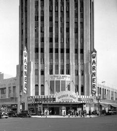 Art Deco Wiltern Theatre, LA