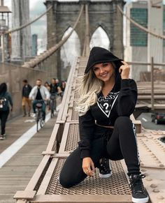 Brooklyn Bridge, Hipster, New York, Usa, Polyvore, Clothes, Fashion, Outfit, Hipsters