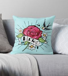 teaseBYjteez is an independent artist creating amazing designs for great products such as t-shirts, stickers, posters, and phone cases. Hero, Throw Pillows, Toss Pillows, Decorative Pillows, Decor Pillows, Scatter Cushions