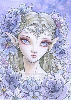 Elven Princess by aruarian-dancer.deviantart.com on @DeviantArt