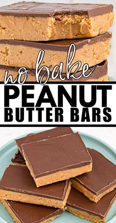 Chocolate Peanut Butter Squares, Peanut Butter Slice, Peanut Butter Dessert Recipes, Peanut Butter Cookie Bars, Candy Recipes, No Bake Desserts, Delicious Desserts, Peanut Butter Fingers, Goodies