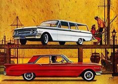 1960 Mercury Comet - Promotional Advertising Poster