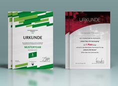 Urkunden und Zertifikate zum Download