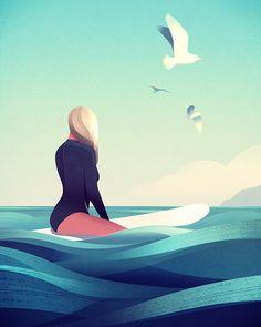 Stunning Digital Illustrations by Andrew Lyons | Inspiration | Graphic Design Junction