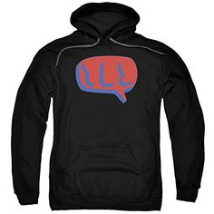 Yes Word Bubble Mens Pullover Hoodie - http://bandshirts.org/product/yes-word-bubble-mens-pullover-hoodie/