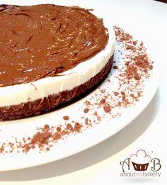 Torta fredda nutella e pandistelle | Ricetta golosa | About My Bakery #nutella #pandistelle #tortafredda #bakeoffitalia #aboutmybakery