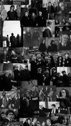 Black And White Picture Wall, Black And White Wallpaper, Black And White Background, Black Aesthetic Wallpaper, Black And White Pictures, Slytherin, Hogwarts, Harry Potter Poster, Harry Potter Theme