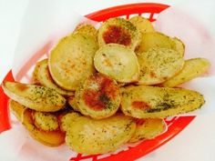 Home Fries PD-Ed Exclusive Recipe - These simply delicious potato disks are a great way to increase your plant fiber intake. You will save big bucks and hundreds of empty fat calories using fresh potatoes in place of freezer fries. Skip the chicken nuggets and serve your kids Home Fries for dinner. Loaded with a perfect balance of clean protein, fiber and carbohydrates that is only found in whole plant foods. Your kids will love them and your budget will too.