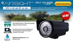AirSight Wide Angle Outdoor IP Camera